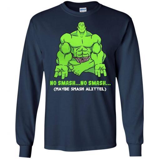 Hulk yoga No smash no smash maybe smash a little shirt - image 3778 510x510