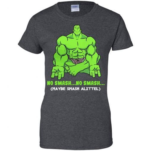 Hulk yoga No smash no smash maybe smash a little shirt - image 3783 510x510