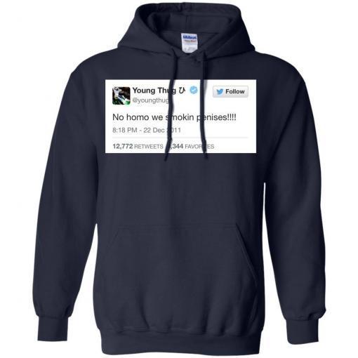 Young Thug No Homo We Smokin Penises shirt - image 3901 510x510