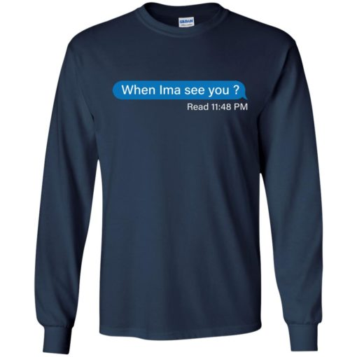 When Ima See You Read 11:48 pm shirt - image 4108 510x510