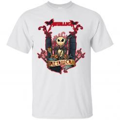 Jack Skellington Metallica t-shirt