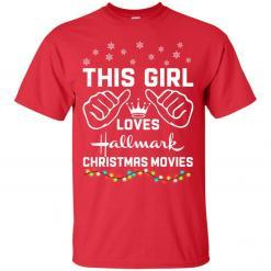 This girl loves Hallmark Christmas movies shirt - image 4172 247x247