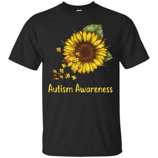 Autism Awareness sunflower shirt - image 444 510x510