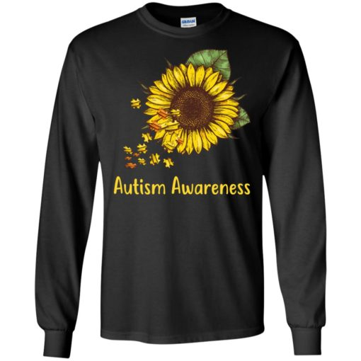 Autism Awareness sunflower shirt - image 447 510x510