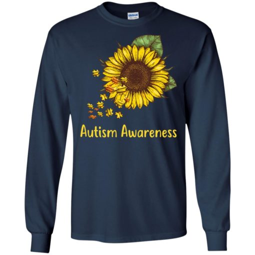 Autism Awareness sunflower shirt - image 448 510x510