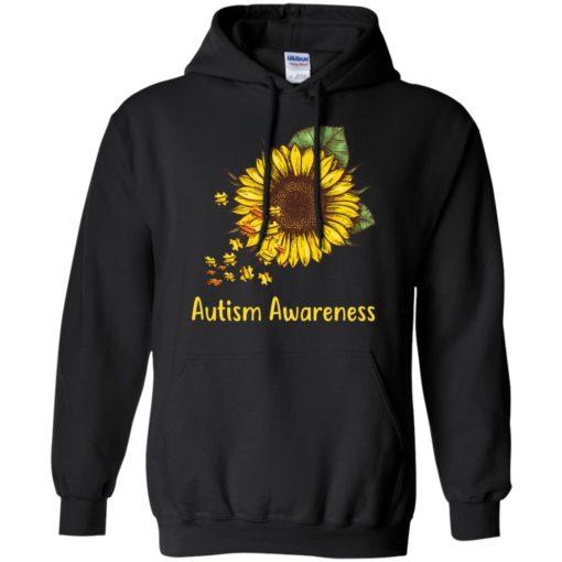 Autism Awareness sunflower shirt - image 449 510x510