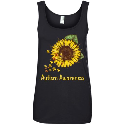 Autism Awareness sunflower shirt - image 451 510x510