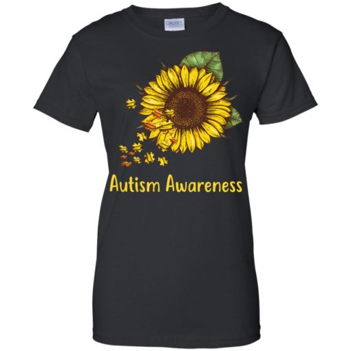 Autism Awareness sunflower shirt - image 453 510x510