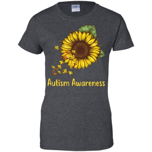 Autism Awareness sunflower shirt - image 454 510x510