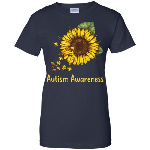 Autism Awareness sunflower shirt - image 455 510x510