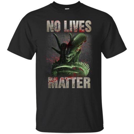 Xenomorph no lives matter shirt - image 480 510x510