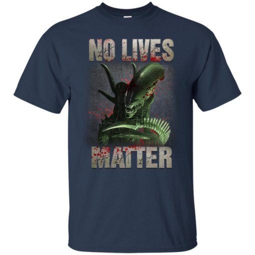 Xenomorph no lives matter shirt - image 481 510x510
