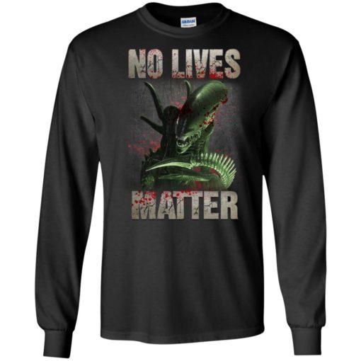 Xenomorph no lives matter shirt - image 483 510x510