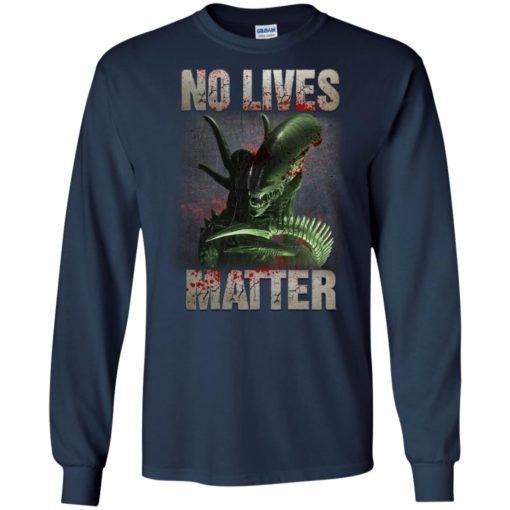 Xenomorph no lives matter shirt - image 484 510x510