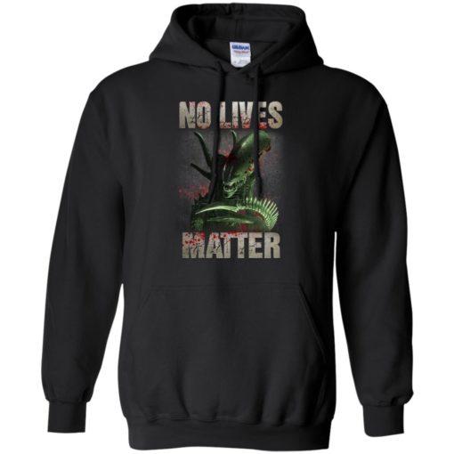 Xenomorph no lives matter shirt - image 485 510x510