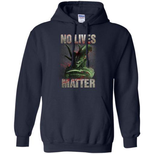 Xenomorph no lives matter shirt - image 486 510x510