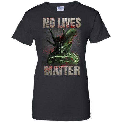 Xenomorph no lives matter shirt - image 489 510x510