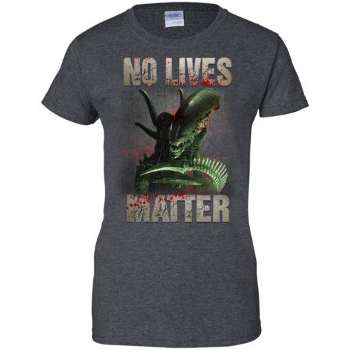 Xenomorph no lives matter shirt - image 490 510x510