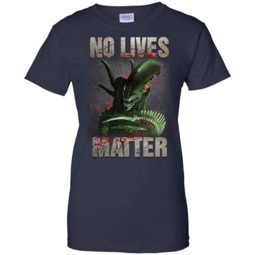 Xenomorph no lives matter shirt - image 491 510x510