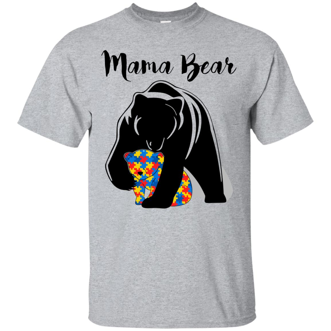 8795a8ce Autism Mama Bear shirt, tank top, long sleeve, ladies tee