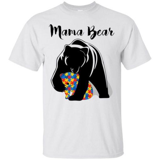 Autism Mama Bear shirt - image 878 510x510