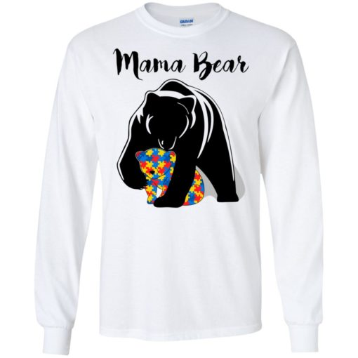 Autism Mama Bear shirt - image 880 510x510