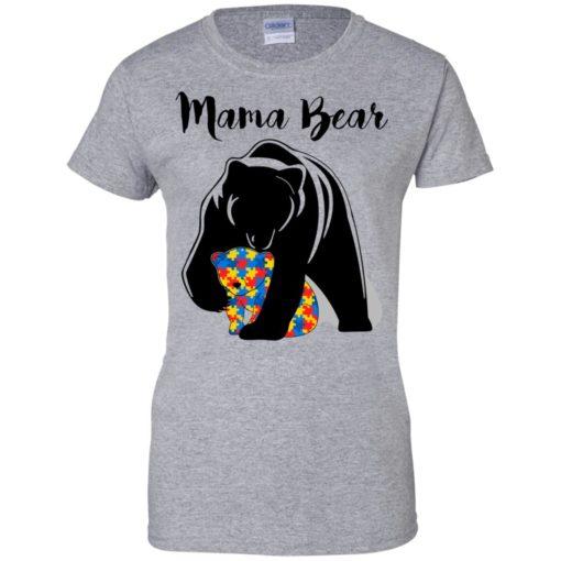 Autism Mama Bear shirt - image 886 510x510