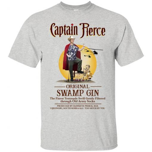Captain Pierce Original Swamp Gin shirt - image 100 510x510