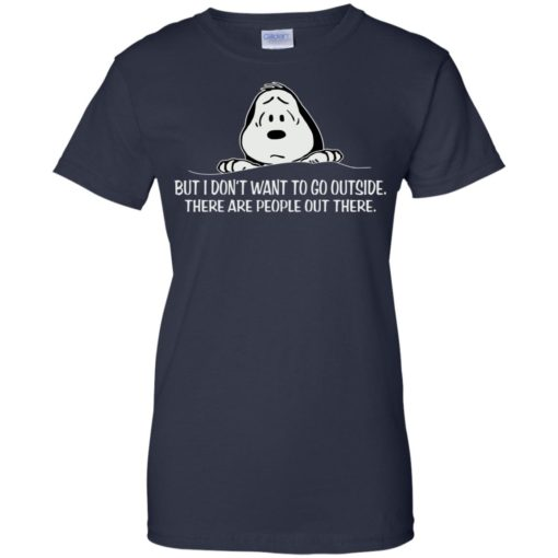 Snoopy But I don't want to go outside shirt - image 1046 510x510