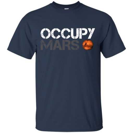 Occupy Mars shirt shirt - image 1605 510x510
