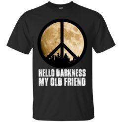 Hippie moon hello darkness my old friend shirt - image 1686 247x247
