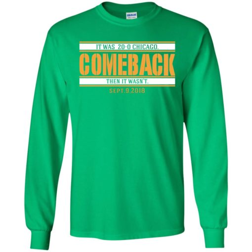 It was 20-0 Chicago comeback shirt - image 1725 510x510
