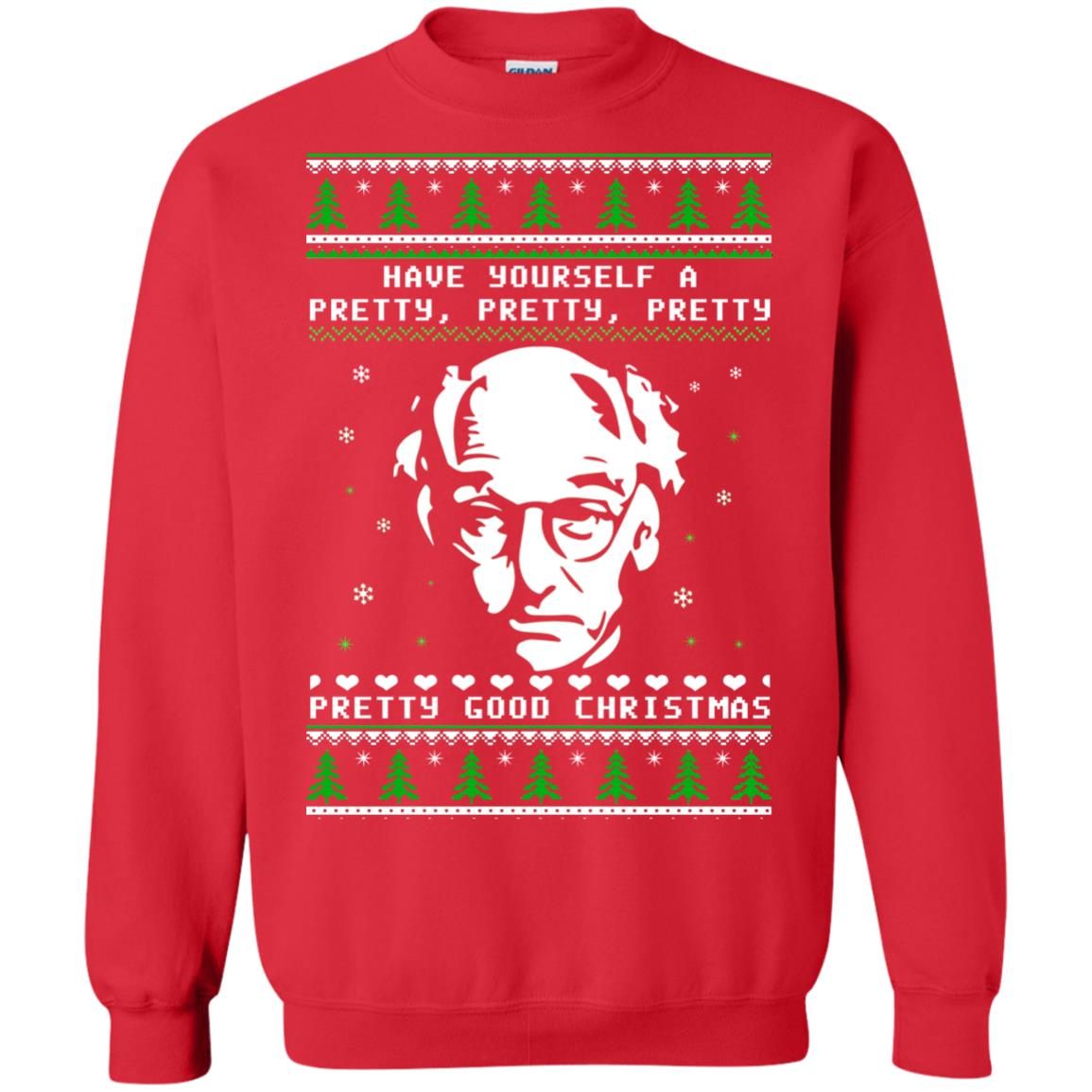 Larry David Have Yourself A Pretty Pretty Pretty Good Christmas Sweater