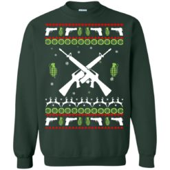 Assault Rifle Ugly Christmas Sweatshirt shirt - image 1890 247x247