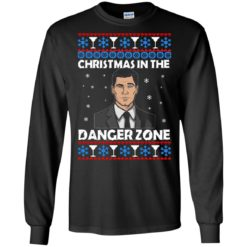 Archer Christmas in the Danger Zone ugly sweatshirt shirt - image 1894 247x247