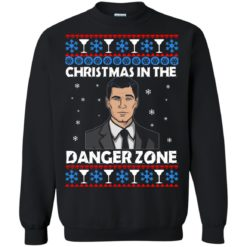 Archer Christmas in the Danger Zone ugly sweatshirt shirt - image 1897 247x247