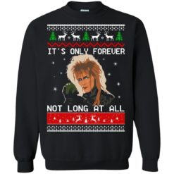David Bowie It's only forever not long at all Christmas sweater shirt - image 2027 247x247