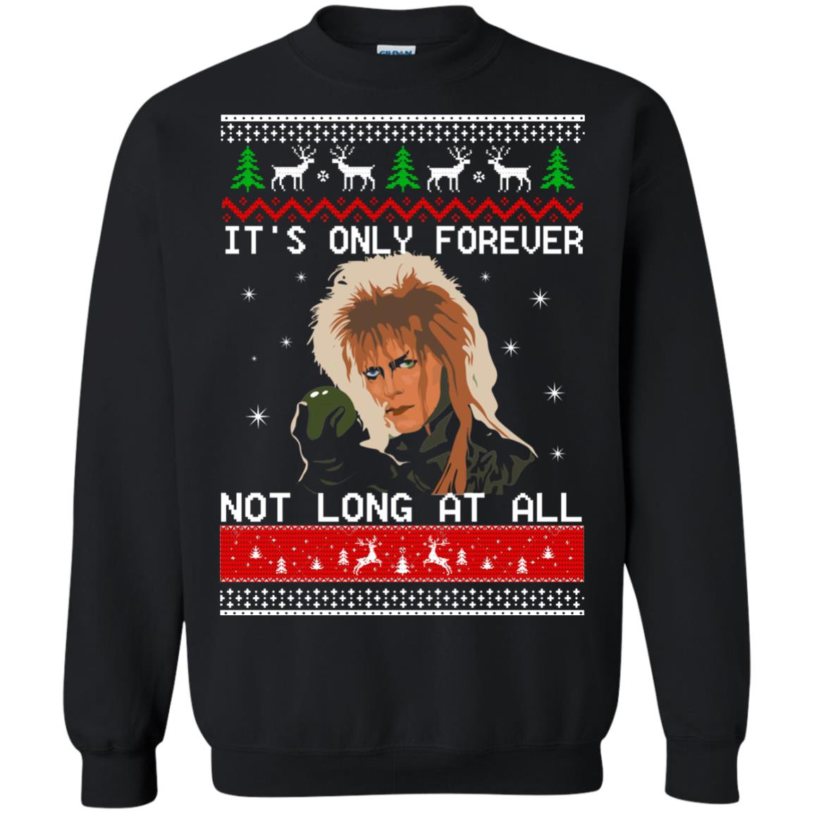 david bowie its only forever not long at all christmas sweater shirt image 2027 510x510 - David Bowie Christmas