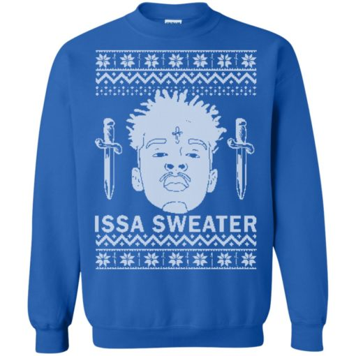 21 Savage Rapper Issa sweater shirt - image 2041 510x510