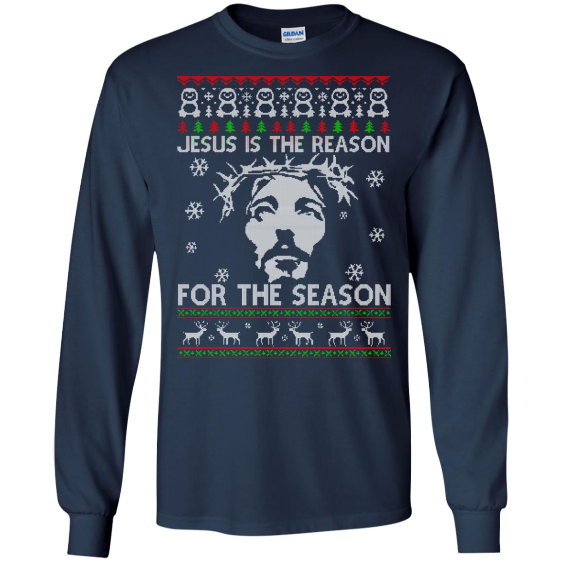 The Reason For The Season Jesus Christmas Sweater, hoodie