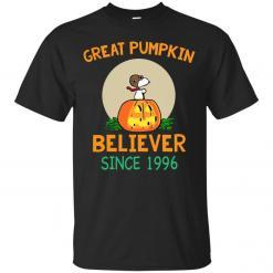 Snoopy Great Pumpkin Believer Since 1996 shirt - image 22 247x247