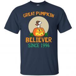 Snoopy Great Pumpkin Believer Since 1996 shirt - image 23 247x247