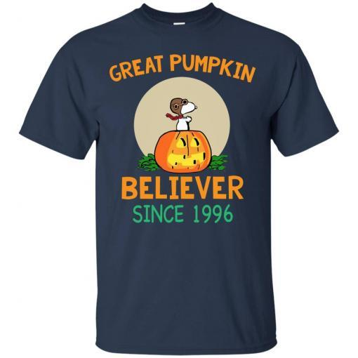 Snoopy Great Pumpkin Believer Since 1996 shirt - image 23 510x510