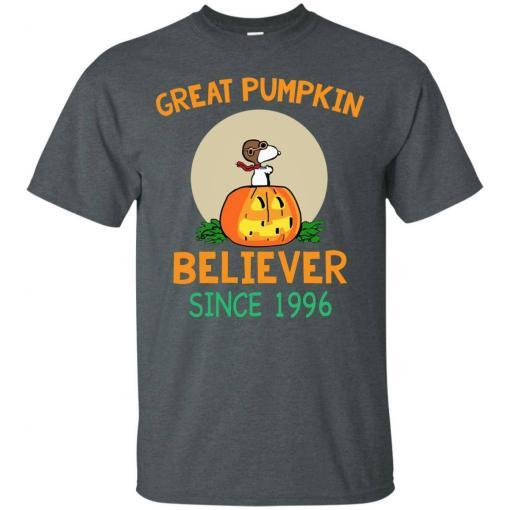 Snoopy Great Pumpkin Believer Since 1996 shirt - image 24 510x510