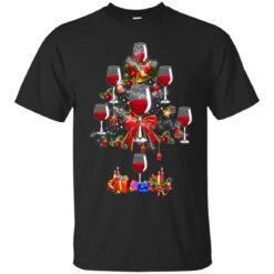 Wine Christmas tree shirt - image 266 247x247