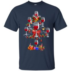 Wine Christmas tree shirt - image 267 247x247