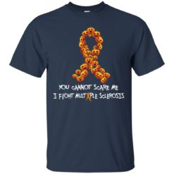 Pumpkin You can't scare me I fight multiple sclerosis shirt - image 2685 247x247