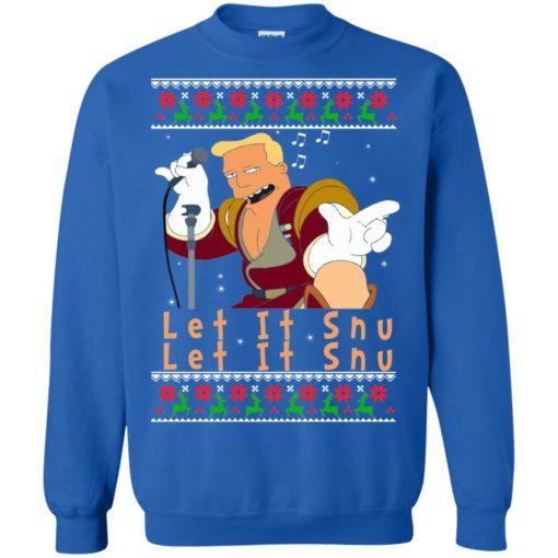 Zapp Brannigan let's it Snu Christmas sweatshirt shirt - image 2813 510x510
