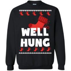 Well Hung Christmas sweatshirt shirt - image 2819 247x247
