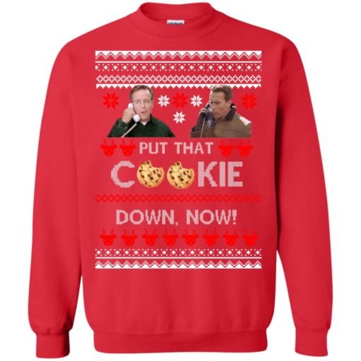 Put That Cookie Down Now Ugly Sweater shirt - image 2841 510x510